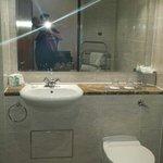 Clean and pristine bathroom