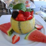 melon fruits rouges