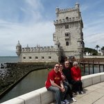 half day tour of Lisbon - Shirley, Gary, Chris and Sharon
