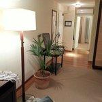 Visao geral do apartamento