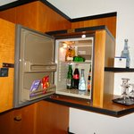 mini bar inside the room