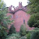 uno scorcio del castello medioevale(ricostruzione di un castello medioevale)