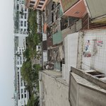 Part of the 'city view' offered from room 501