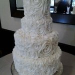 We do wedding cakes too.