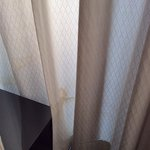 Stained curtains