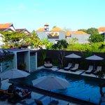 The Kana Kuta- Room 122 view - 9am