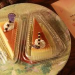Delicious cheese cake, welcome cake!