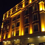 Gordion hotel at night