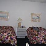 Habitacion con 2 camas dobles