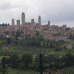 20 mins to San Gimignano