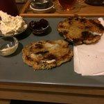 Cherry and white chocolate scones, lush!!