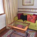 sofá de la habitación