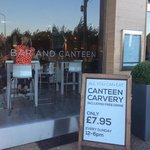 the Bar and Canteen looks good from the outside