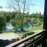 La vue de notre balcon terrasse