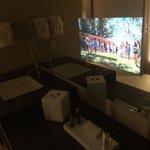 Magic tv in the mirror