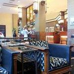 Lobby with self-serve bar