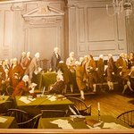 Painting of the signing of the Constitution
