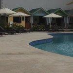generous sized pool
