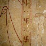 Древние арийские знаки свастики на одной из ёкспозиций