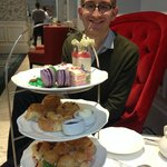 Chelsea flower show Afternoon Tea,  Drawing Room, Ampersand Hotel