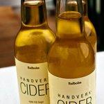Cider made on the premises