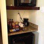 Mini bar area