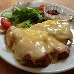 cheese & ham melt