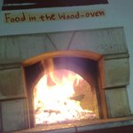 traditional food in the wood oven...!!!!