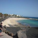 Beach 5 minute walk from hotel