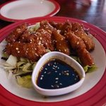 Glazed chicken starter