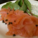 My delicious smoked salmon appetizer