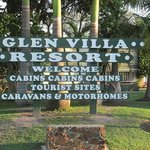 Glen Villa - Sign