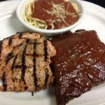 Grilled Chicke & BBQ Ribs