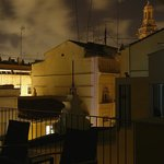 ночной вид с террасы на юг