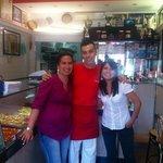 Partenza in Perù ma non prima di mangiare della buona pizza!!