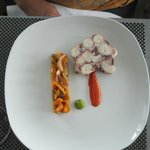 Ginger and Fred Restaurant - octopus