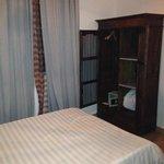 Smaller, more modern room