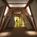 Serene Historic Hallway
