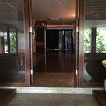 Innerer Zimmereingang