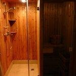 Shower AND sauna