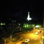 Vista do Quarto, à Noite