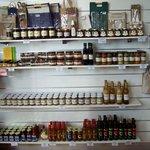 Local Produce display & sales