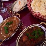 Chicken Tikka Masala , Rice , Naan , and More.