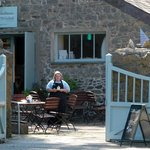 The Boathouse Cafe (National Trust) at Stackpole Quay