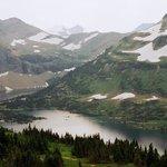 Hidden Lake, a short walk from main highway, in Logan Pass