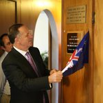 NZ's Prime Minister John Key officially opens the revived Oakwood