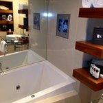 bath and tv