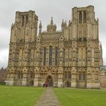 Outside View of the Wells Cathedral