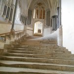 Steps going to the Chapter House