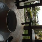 el cafe por la tarde en el comedor